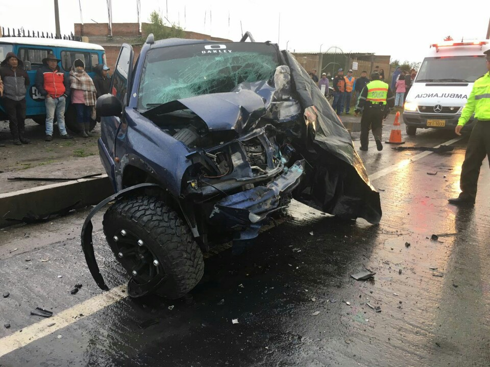 Accidente de tránsito en San Gabriel
